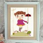 "sweet a4 high quality print  ""cute dancer"""